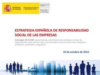 El Consejo de Ministros aprueba la Estrategia Española de Responsabilidad Social de las Empresas 2014-2020