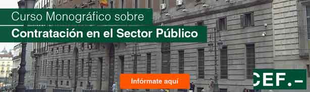 Curso monográfico sobre contratación del Sector Público