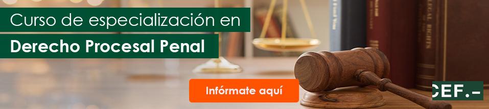 Curso de Especialización en Derecho Procesal Penal