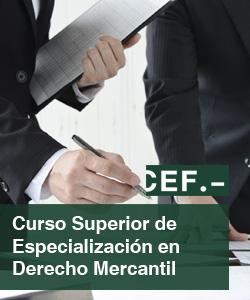 Curso Superior de Especialización en Derecho Mercantil