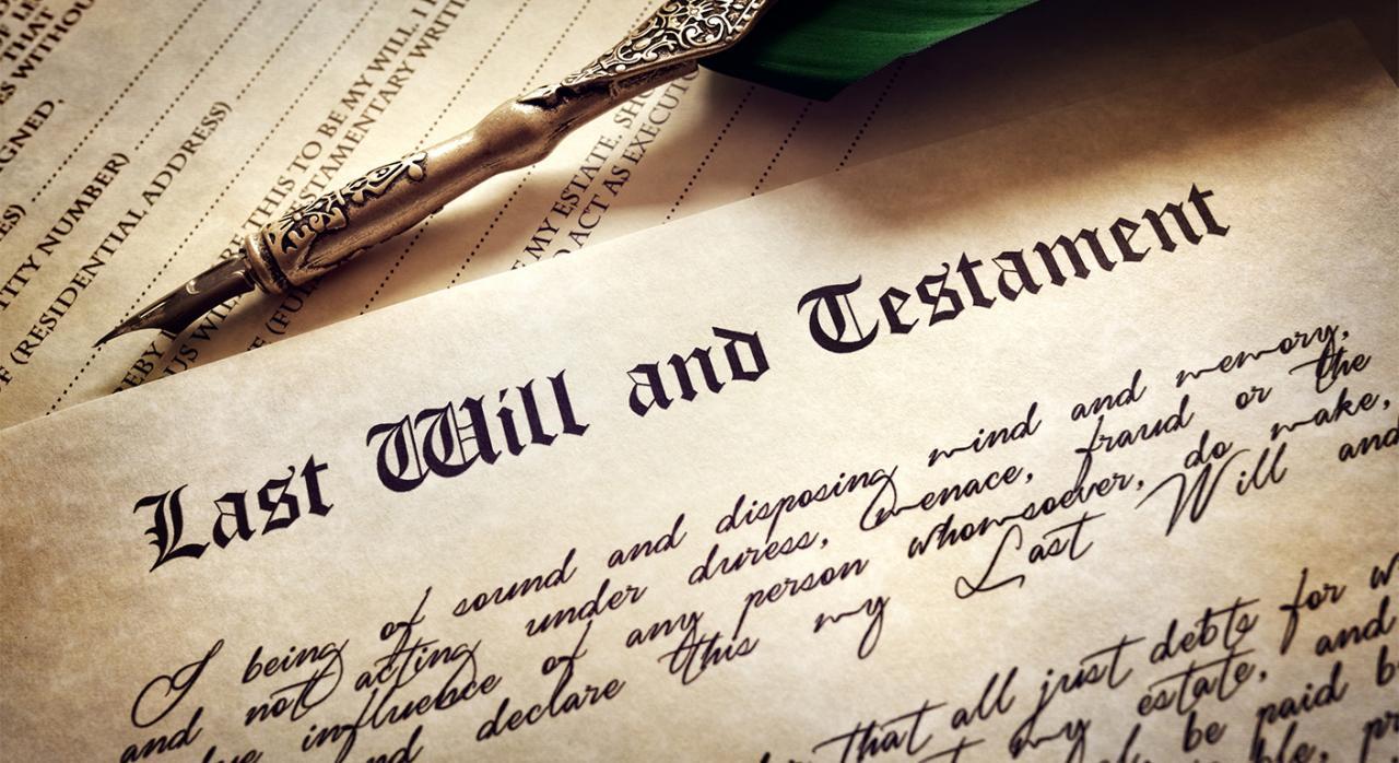 Ineficacia de la institución de heredero del cónyuge de la causante producido el divorcio