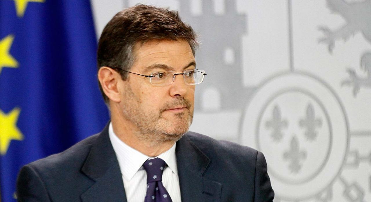 Ministro de justicia Rafael Catalá
