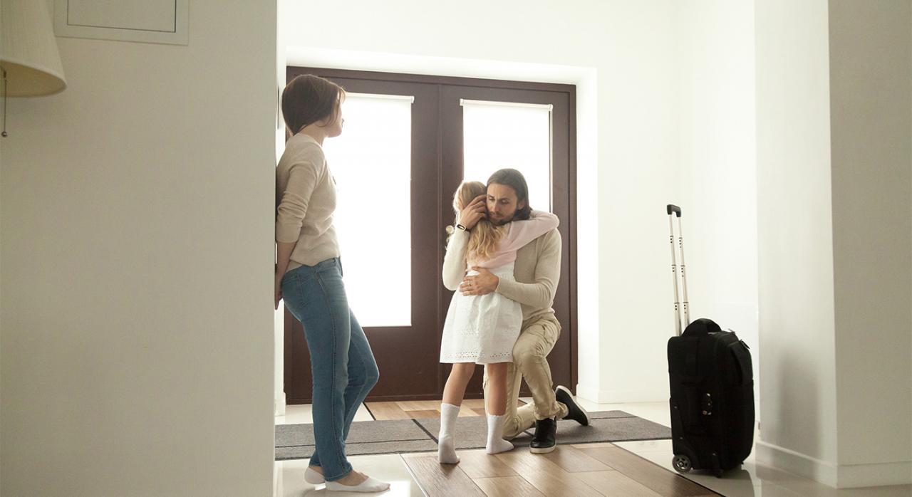 Reparto no igualitario de tiempo de estancia entre los progenitores en un sistema de custodia compartida